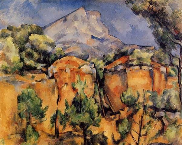 Cezanne-MontSainte-VictoireSeenfromtheBibemusQuarry