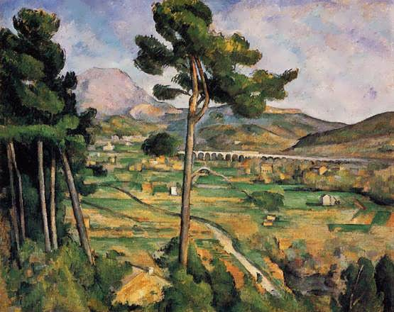 Cezanne-MountSainte-VictoireasseenfromBellevue