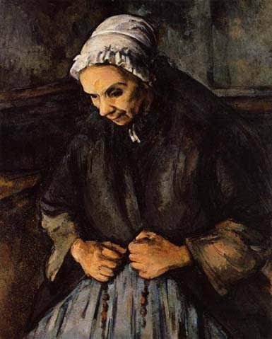 Cezanne-OldWomanwithaRosary1