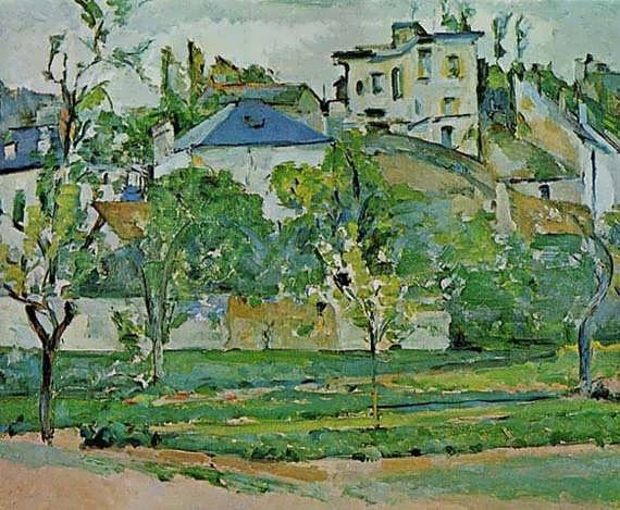 Cezanne-OrchardinPontoise