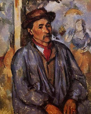 Cezanne-PeasantinaBlueSmock