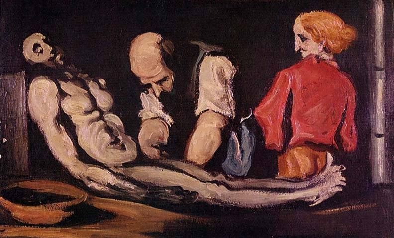 Cezanne-PreparationfortheFuneralakaTheAutopsy