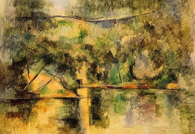Cezanne-ReflectionsintheWater