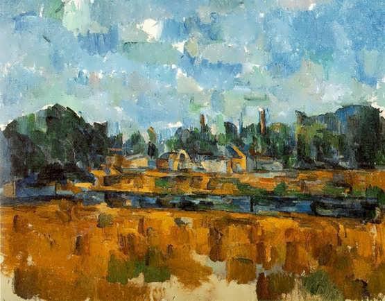 Cezanne-Riverbanks