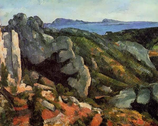 Cezanne-RocksatLEstaque