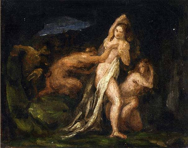 Cezanne-SatyresandNymphs
