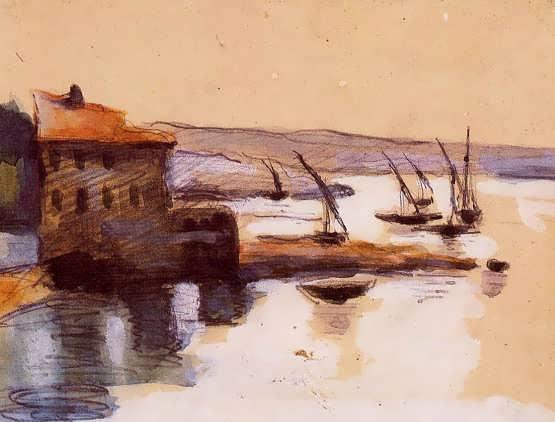 Cezanne-Seascape