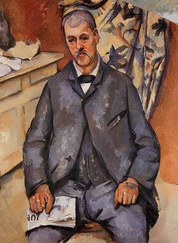 Cezanne-SeatedMan