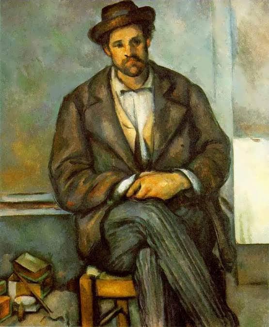 Cezanne-SeatedPeasant