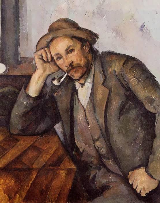 Cezanne-Smoker1