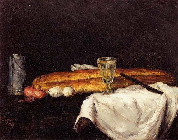 Cezanne-StillLifewithBreadandEggs