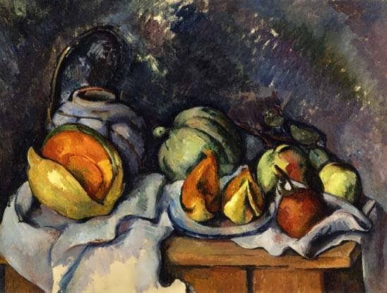 Cezanne-StillLifewithFruitandaPotofGinger