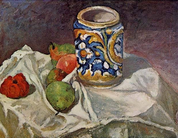 Cezanne-StillLifewithItalianEarthenware