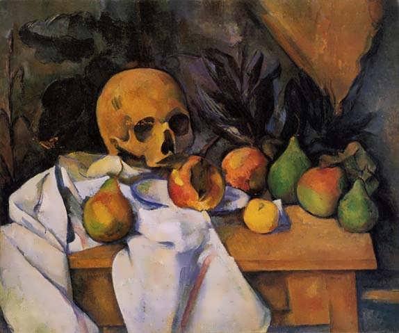 Cezanne-StillLifewithSkull