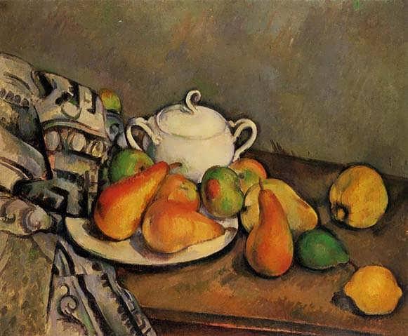 Cezanne-SugarbowlPearsandTablecloth