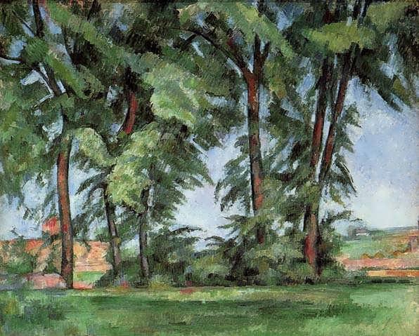 Cezanne-TallTreesattheJasdeBouffan