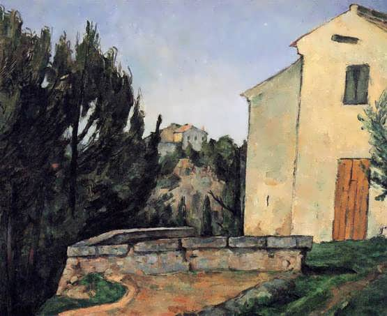 Cezanne-TheAbandonedHouse