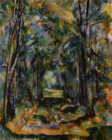 Cezanne-TheAlleyatChantilly