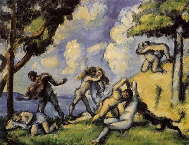 Cezanne-TheBattleofLoveI