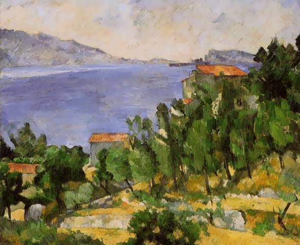 Cezanne-TheBayofLEstaquefromtheEast
