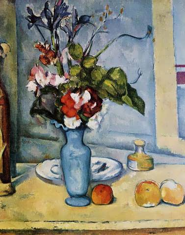 Cezanne-TheBlueVase