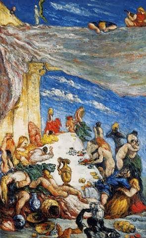 Cezanne-TheFeastakaTheBanquetofNebuchadnezzar