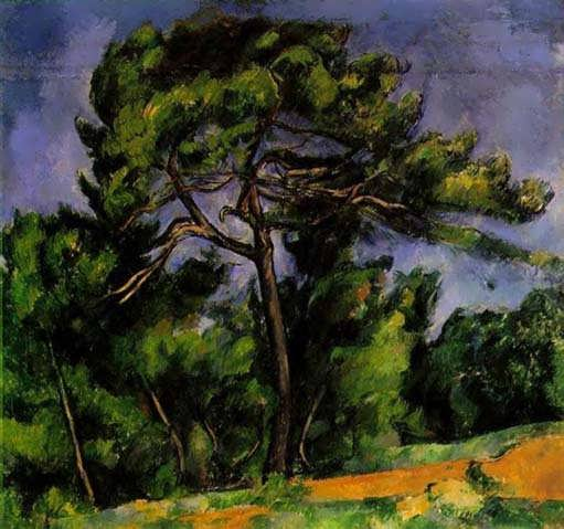 Cezanne-TheGreatPine