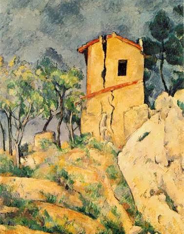 Cezanne-TheHousewithCrackedWalls