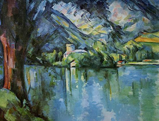 Cezanne-TheLacdAnnecy