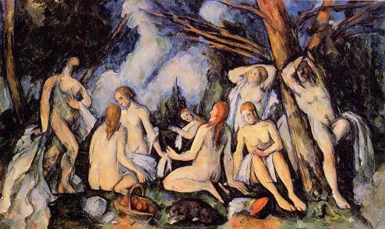 Cezanne-TheLargeBathers