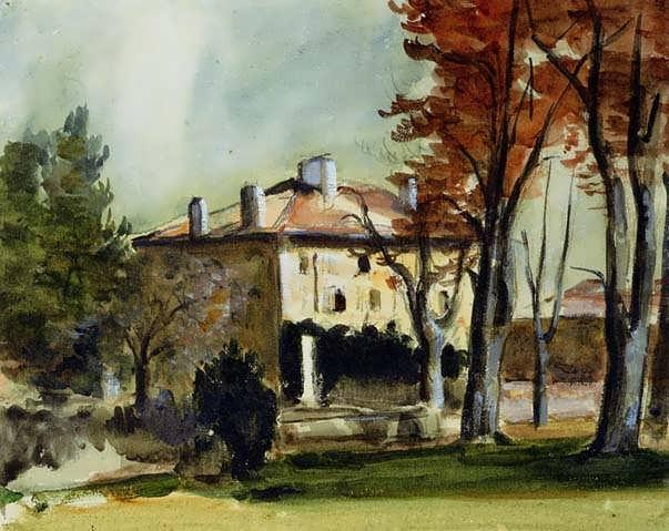 Cezanne-TheManorHouseatJasdeBouffan