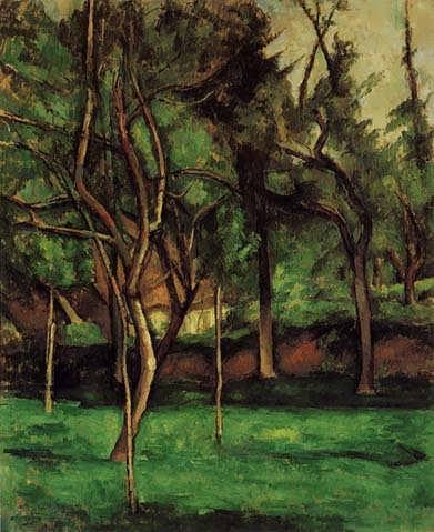 Cezanne-TheOrchard