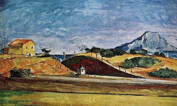Cezanne-TheRailwayCutting