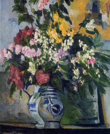Cezanne-TwoVasesofFlowers