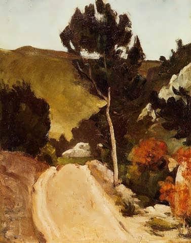 Cezanne-WindingRoadinProvence