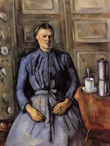 Cezanne-WomanwithaCoffeepot2