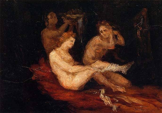 Cezanne-WomenDressing