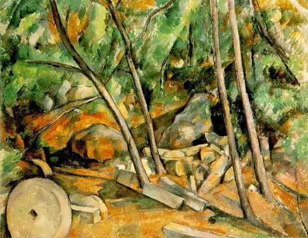 Cezanne-WoodswithMillstone