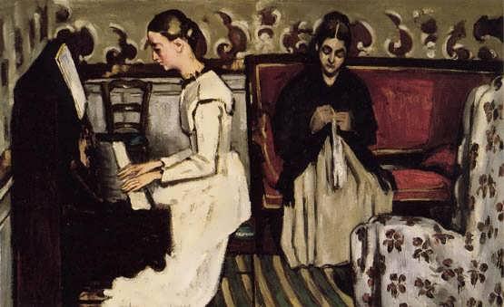 Cezanne-YoungGirlatthePiano-OverturetoTannhauser