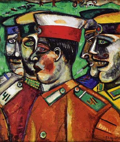 Chagall-Soldiers