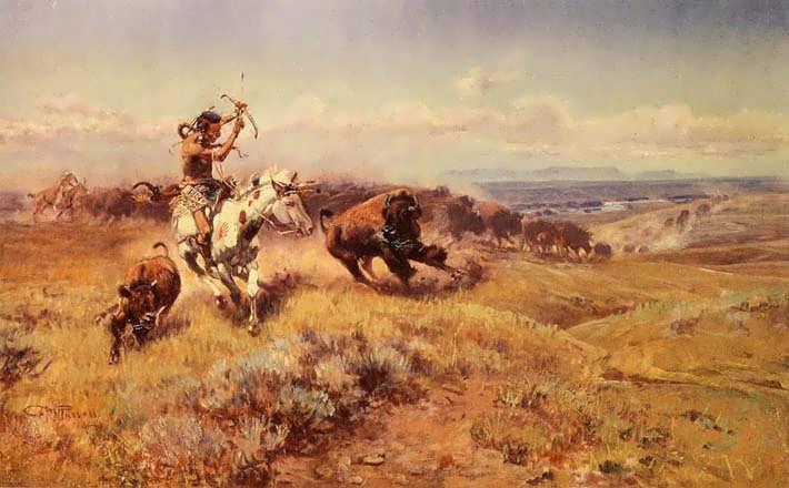 CharlesMarionRussell-HorseoftheHuntersakaFreshMeat