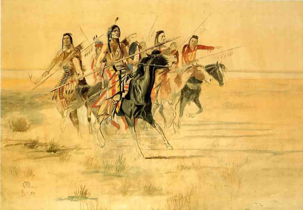 CharlesMarionRussell-IndianHunt
