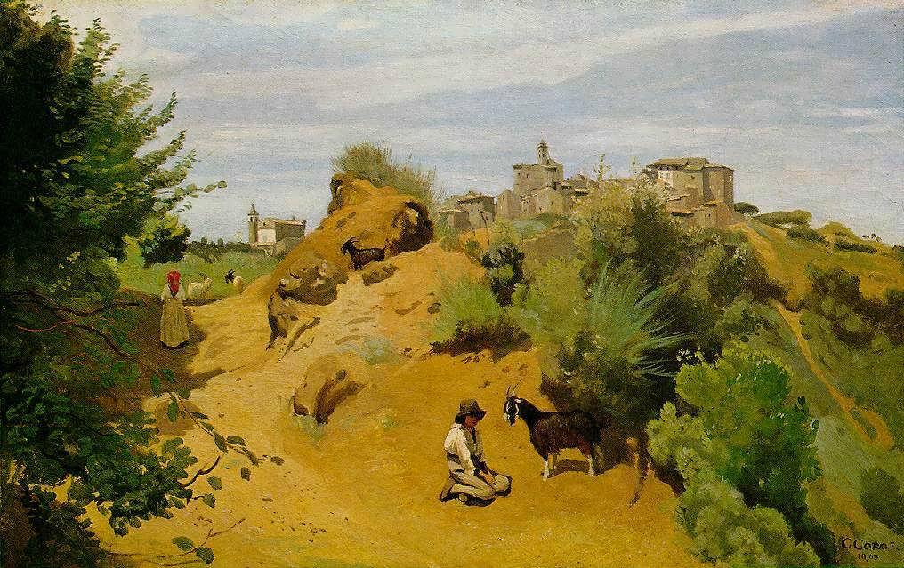 Corot-TheGoat-HerdofGenzano
