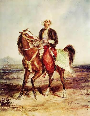 Delacroix-CharlesVIandOdettedeChampdivers
