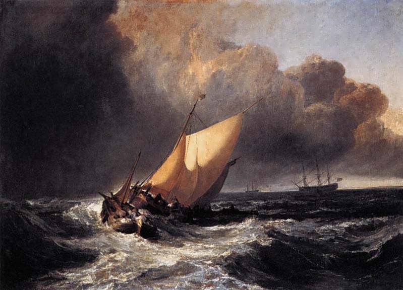 DutchBoatsinaGale