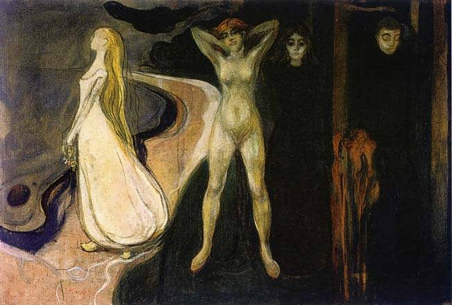 EdvardMunch-TheWomaninThreeStages