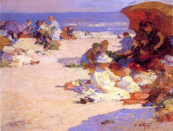 EdwardPotthast-PicknickersontheBeach