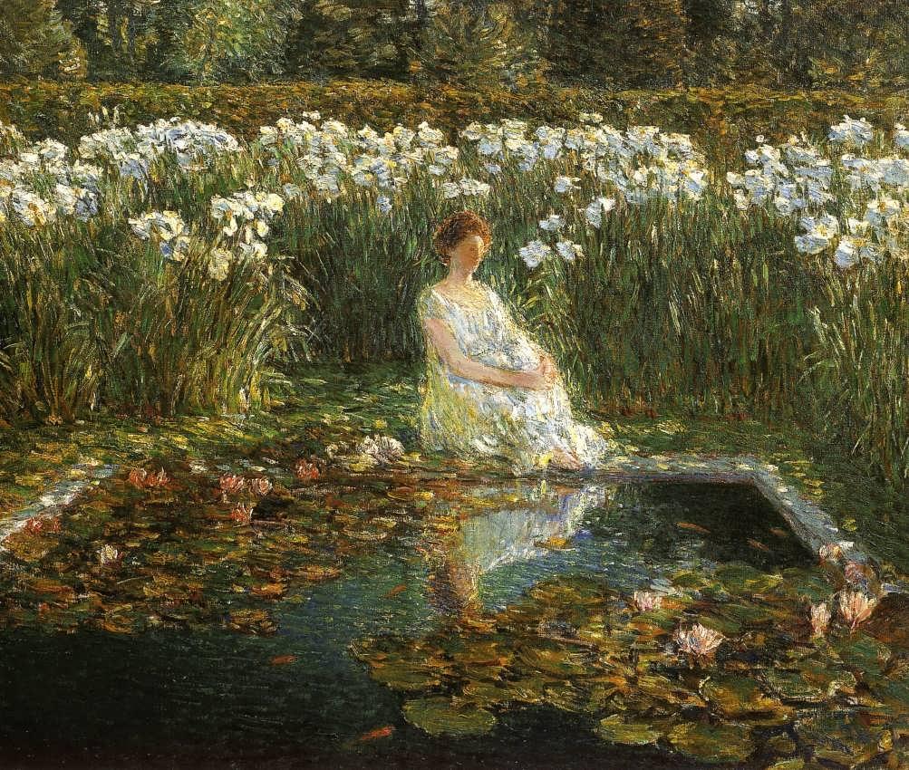 FrederickChildeHassam-Lilies2