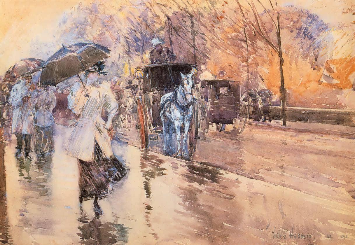 FrederickChildeHassam-RainyDayonFifthAvenue1