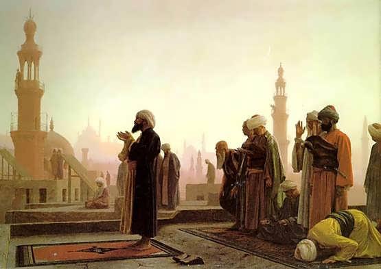 Gerome-Prayer_in_Cairo_18651